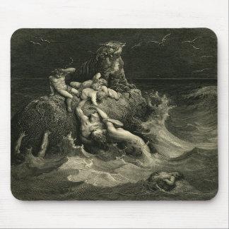 El diluvio de Gustavo Dore basado en la arca de No Tapete De Raton