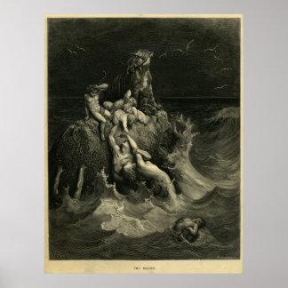 El diluvio póster