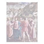 El dinero del tributo por Masaccio (la mejor calid Membretes Personalizados
