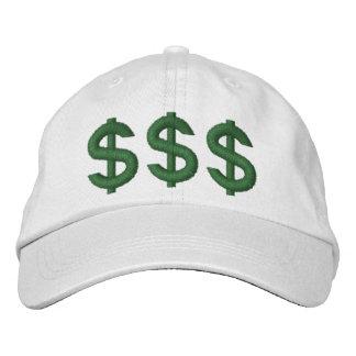 El dinero en mis muestras de dólar de la mente gorras bordadas
