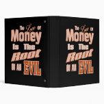 El dinero es la raíz de todo el mal
