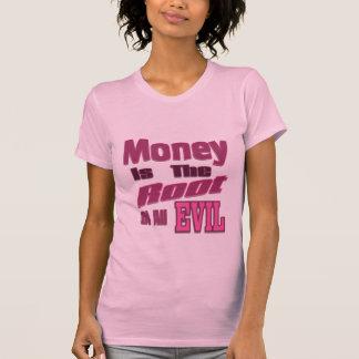 el dinero es la raíz de todo el mal poleras