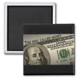 El dinero llamado del ídolo imán para frigorífico
