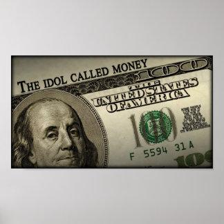 El dinero llamado del ídolo poster