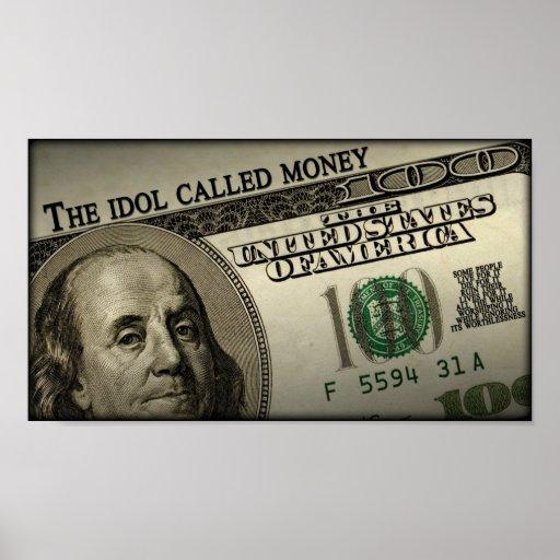 El dinero llamado del ídolo póster