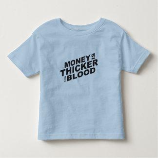 El dinero modificado para requisitos particulares camiseta