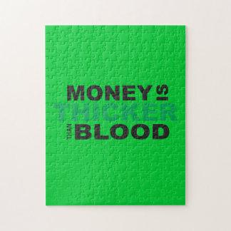El dinero modificado para requisitos particulares rompecabezas