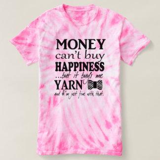 El dinero no da la felicidad • Artes/hilado Playeras