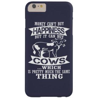 El dinero no da la felicidad funda de iPhone 6 plus barely there