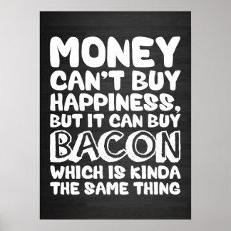El dinero no da la felicidad, pero él puede compra impresiones
