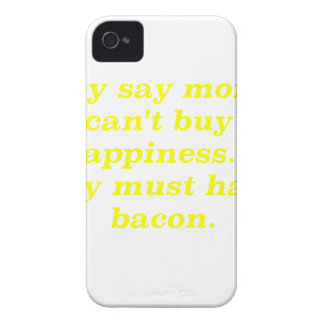 El dinero no da la felicidad rosa del verde amaril iPhone 4 cobertura