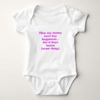 El dinero no da la felicidad rosa del verde remeras