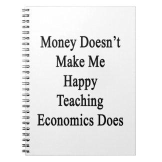 El dinero no me hace la gama de enseñanza feliz de cuadernos
