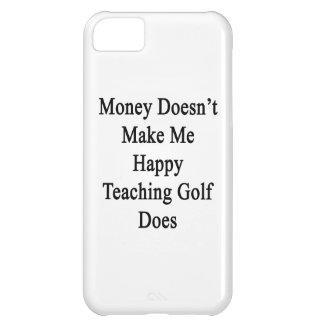 El dinero no me hace que el golf de enseñanza funda para iPhone 5C