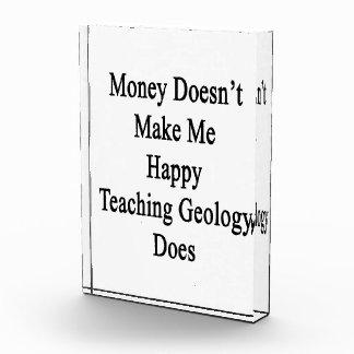 El dinero no me hace que la geología de enseñanza