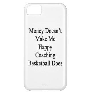 El dinero no me hace que lo hace el baloncesto que funda para iPhone 5C