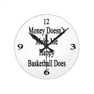 El dinero no me hace que lo hace el baloncesto relojes