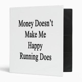El dinero no me hace que lo hace el funcionamiento