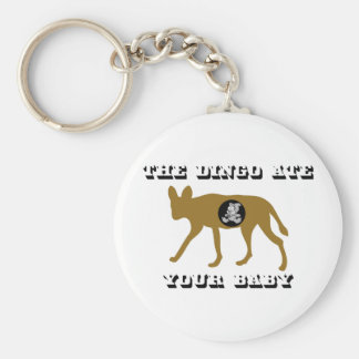El Dingo comió a su bebé Llavero Redondo Tipo Pin
