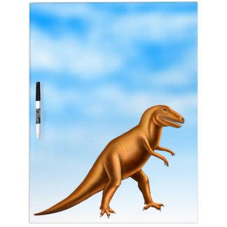 El dinosaurio de Rex del Tyrannosaurus grande seca Tableros Blancos