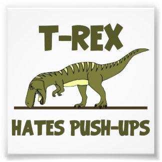 El dinosaurio de Rex del Tyrannosaurus odia Fotografía