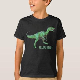 El dinosaurio del Allosaurus embroma la camiseta Poleras