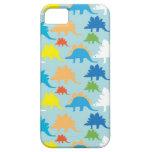 El dinosaurio diseña dinosaurios azules del rojo d iPhone 5 carcasa