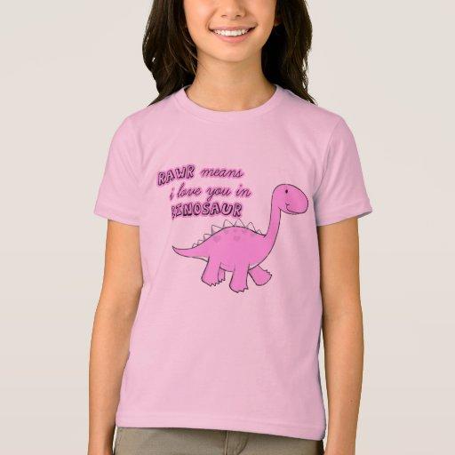 el dinosaurio embroma la camiseta polera