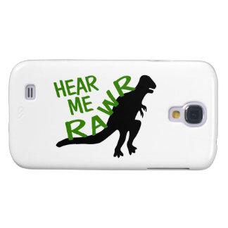 El dinosaurio me oye Rawr Funda Para Galaxy S4