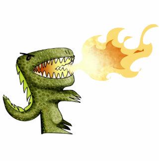 El dinosaurio o el dragón embroma arte con Loston  Esculturas Fotograficas