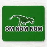 El dinosaurio Rawr de OM Nom Nom tiene hambre Tapete De Raton