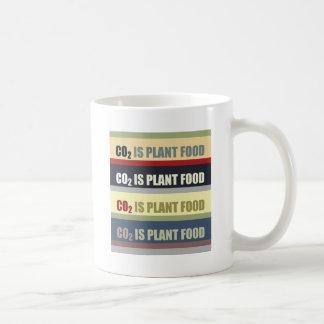 El dióxido de carbono es fortalecedor de plantas taza clásica