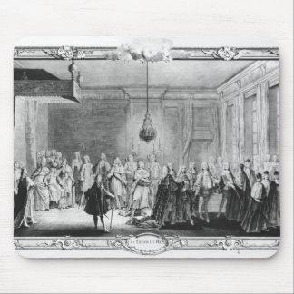 El dique de rey Louis XV Tapetes De Ratones