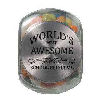 El director de escuela más impresionante del mundo frascos cristal