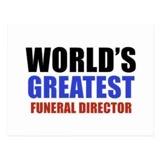 El director de funeraria más grande del mundo postales