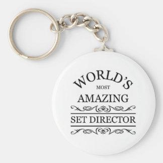 El director más asombroso del sistema del mundo llaveros personalizados