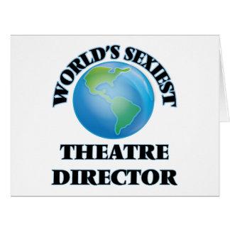 El director más atractivo del teatro del mundo felicitación