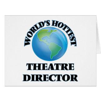 El director más caliente del teatro del mundo tarjetón
