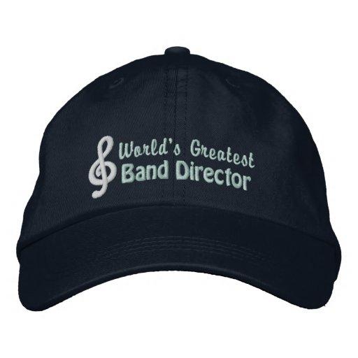 El director más grande de la banda del mundo gorra bordada