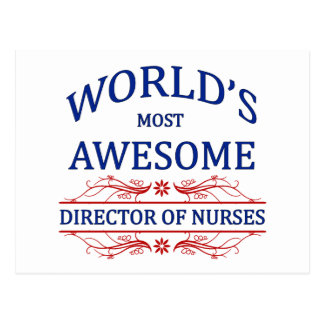 El director más impresionante Of Nurses del mundo Postales