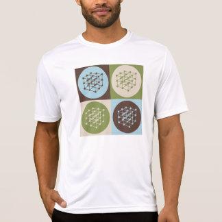El dirigir de los materiales del arte pop camiseta