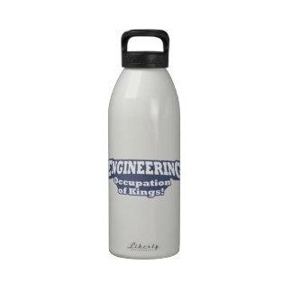 ¡El dirigir - empleo de reyes Botella De Agua