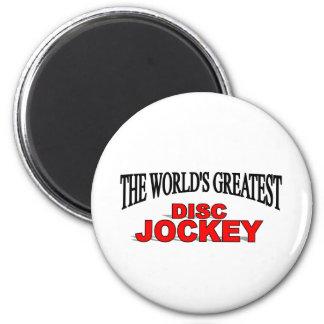 El disc jockey más grande del mundo imanes de nevera