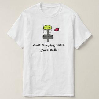 El #DiscGolf abandonó el jugar con su camisa de