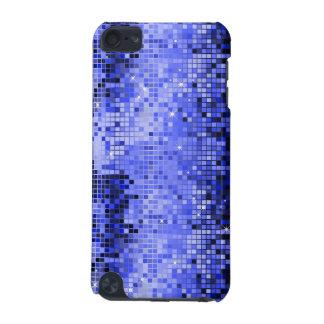 El disco azul metálico de la mirada de las lenteju funda para iPod touch 5G