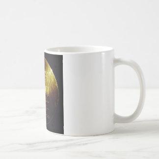 El disco de oro del viajero taza de café