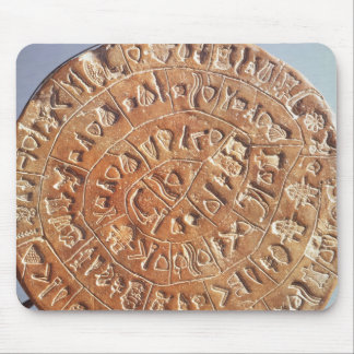 El disco de Phaistos, con la significación descono Tapete De Ratón