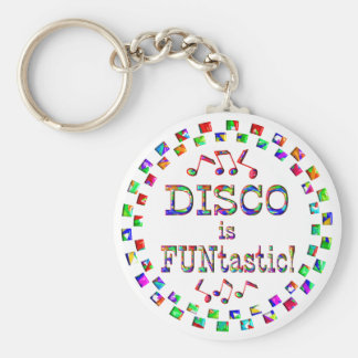 El disco es Funtastic Llavero Redondo Tipo Pin