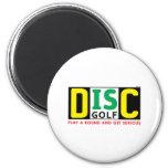 El disco es golf imán redondo 5 cm