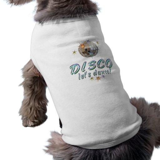 El DISCO nos dejó bailar Camiseta De Mascota
